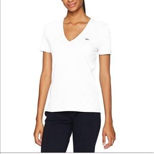⭐️3for$30 Lacoste V Neck T Shirt